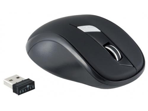 Мышка Oklick 465MW USB, черная, вид 1