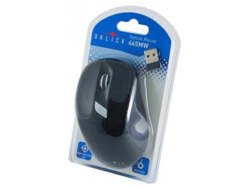 Мышка Oklick 465MW USB, черная, вид 5