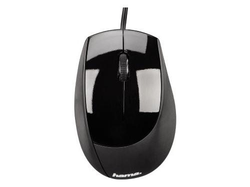 Мышка Hama M360 Optical Mouse, черная, вид 3