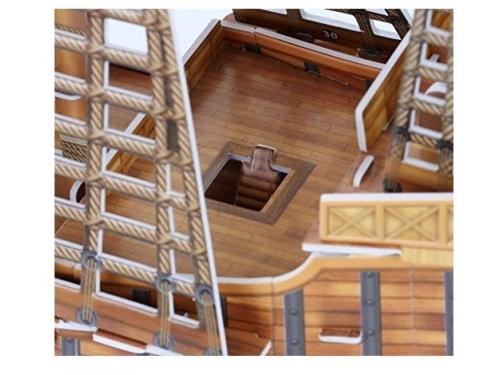 Конструктор CubicFun Корабль Санта Мария T4008h, 3D конструктор, вид 3