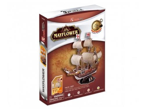 Конструктор CubicFun Корабль Санта Мария T4008h, 3D конструктор, вид 7