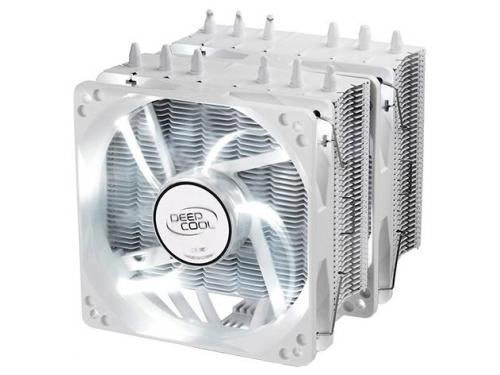 Кулер компьютерный Deepcool NEPTWIN White  150W, PWM, Dual Fan, вид 1