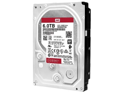 Жесткий диск Western Digital Red Pro 6 TB (WD6003FFBX) 7200, буфер 256Mb, вид 3