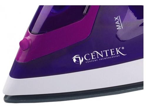 Утюг Centek CT-2348, фиолетовый, вид 4
