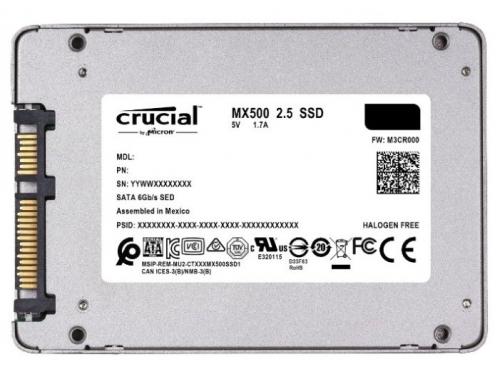 SSD-накопитель SSD Crucial CT500MX500SSD1N 500Gb, SATA3, вид 2