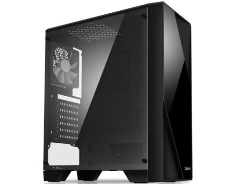 Корпус компьютерный Zalman S1 без БП черный, вид 1
