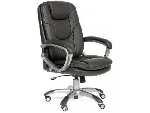 Компьютерное кресло Chairman 668 pu 0007 черное, вид 1