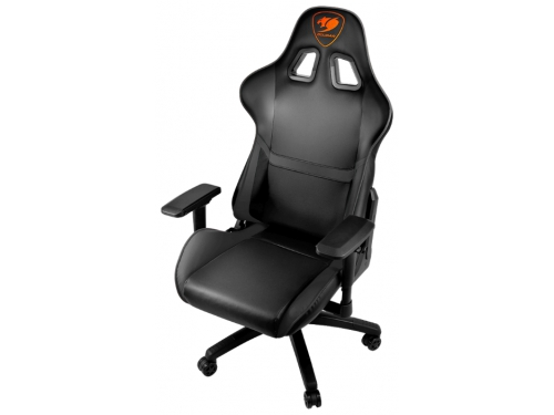 Игровое компьютерное кресло Cougar Armor, черное, вид 4