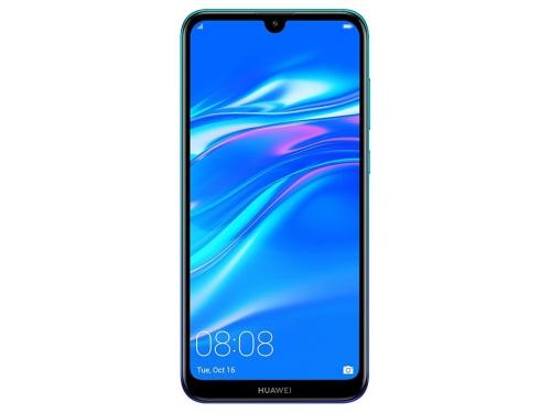 Смартфон Huawei Y7 2019 (DUB-LX1) Aurora, синий, вид 1