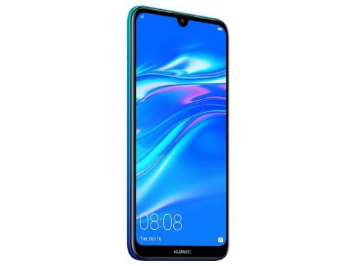 Смартфон Huawei Y7 2019 (DUB-LX1) Aurora, синий, вид 2