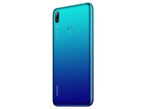 Смартфон Huawei Y7 2019 (DUB-LX1) Aurora, синий, вид 3