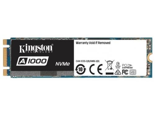 SSD-накопитель SSD Kingston SA1000M8/480G 480 Gb, M.2 2280, вид 2