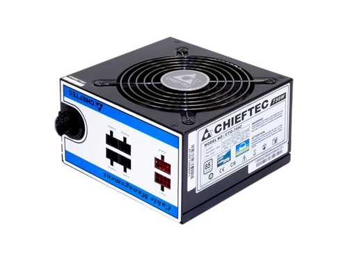 Блок питания Chieftec CTG-750C 750W, вид 1