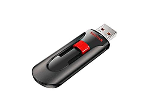 Usb-флешка 8 Gb, SanDisk CZ60 Cruzer Glide, Black, вид 1