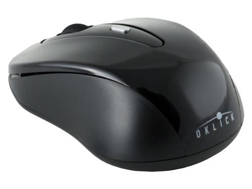 Мышка Oklick 435MW USB, черная, вид 2
