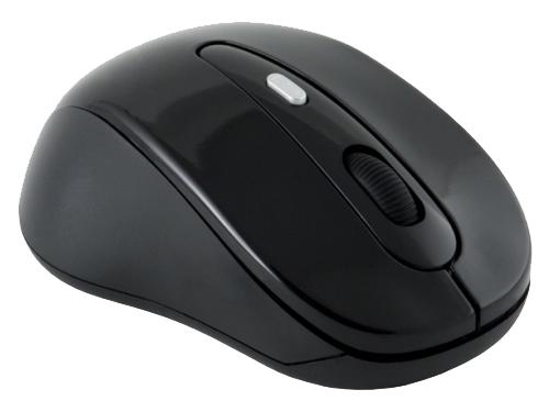 Мышка Oklick 435MW USB, черная, вид 3