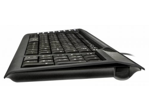 Клавиатура Oklick 350 M, черная USB Multimedia, вид 1