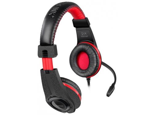 Гарнитура для пк Speedlink Legatos Stereo Gaming Headset, черная, вид 1