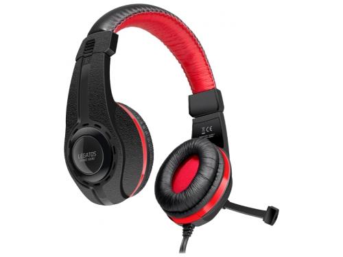 Гарнитура для пк Speedlink Legatos Stereo Gaming Headset, черная, вид 2