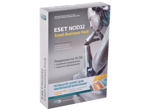 ����������� ����������� ESET NOD32 SMALL Business Pack newsale for 10 user, ��� 1