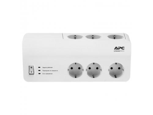 Сетевой фильтр APC PM6 - RS, белый, вид 1
