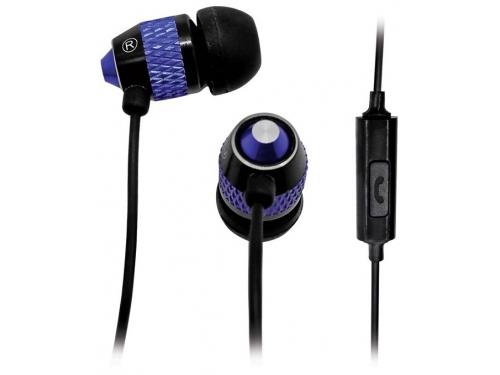 Гарнитура для телефона BBK EP-1570S, черно-синяя, вид 1