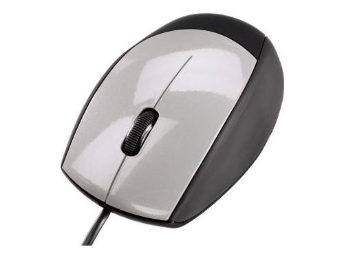 Мышка Hama M368 Optical Mouse USB, черно-серебристая, вид 2