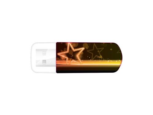Usb-флешка Verbatim Mini Neon Edition 49394 оранжевая/рисунок, вид 2