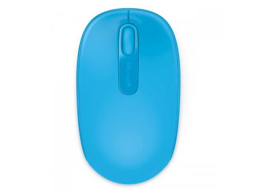Мышка Microsoft Wireless Mobile Mouse 1850, ярко-синяя, вид 2