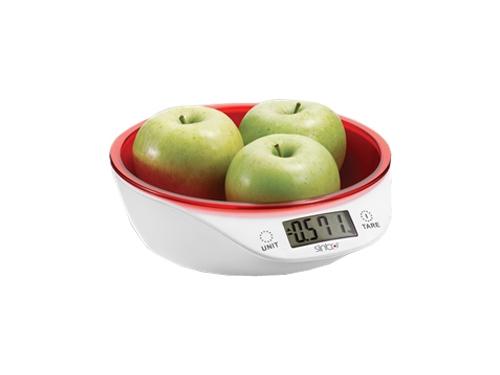Кухонные весы Sinbo SKS-4521, красные, вид 1