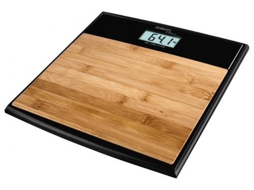 Напольные весы Scarlett SC-BS33E064, бамбук/черные, вид 2
