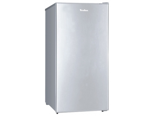 Холодильник Tesler RC-95 Silver, серебристый, вид 1