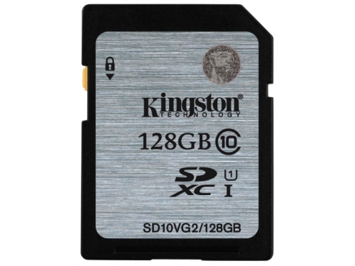 ����� ������ Kingston SD10VG2/128GB (128Gb, class10), ��� 2