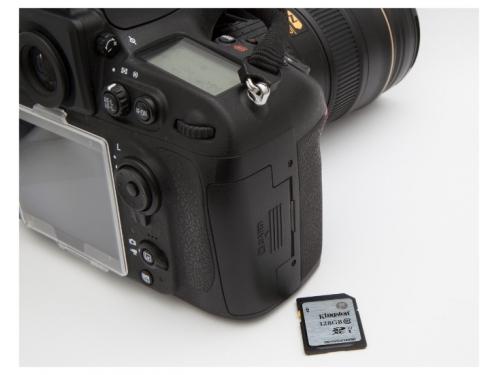 ����� ������ Kingston SD10VG2/128GB (128Gb, class10), ��� 4