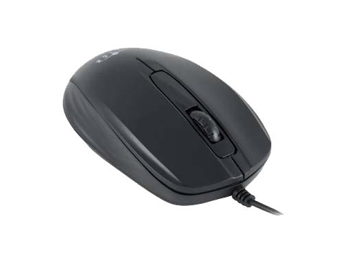 Мышка Oklick 195M USB, черная, вид 1