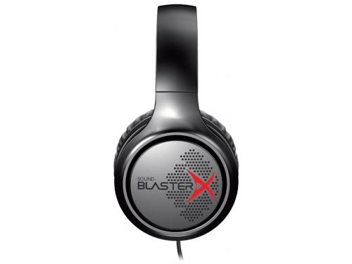 Гарнитура для ПК Creative Sound BlasterX H3, черная, вид 1