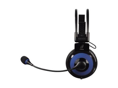 Гарнитура для пк Hama uRage Vibra, черно-синяя, вид 1