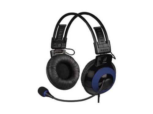 Гарнитура для пк Hama uRage Vibra, черно-синяя, вид 2