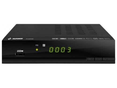Ресивер Telefunken TF-DVBT206, черный, вид 1
