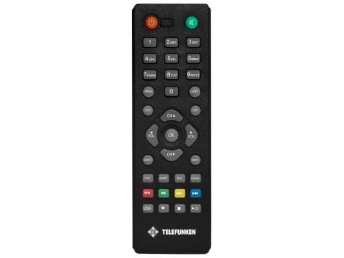 Ресивер Telefunken TF-DVBT206, черный, вид 2