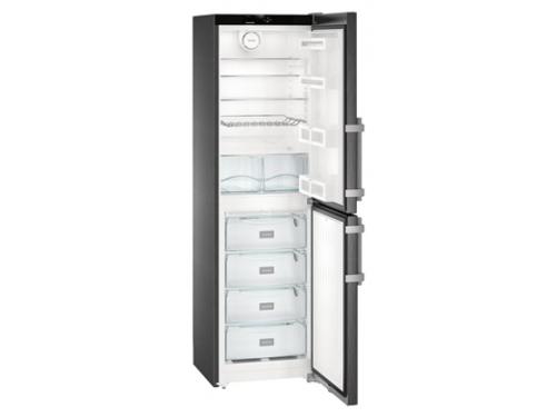 Холодильник Liebherr CNbs 3915, чёрный, вид 2