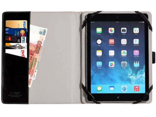 Чехол для планшета G-Case Business 10'' универсальный, чёрный, вид 3