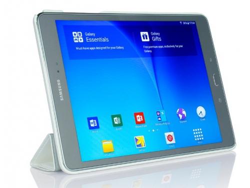 Чехол для планшета G-case Slim Premium для Samsung Galaxy Tab A 9.7'', белый, вид 4