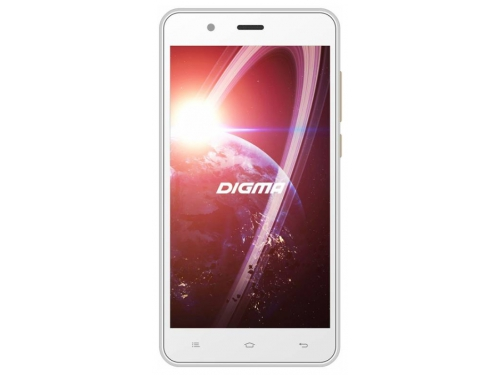 Смартфон Digma Linx C500 3G 4Gb, белый, вид 1