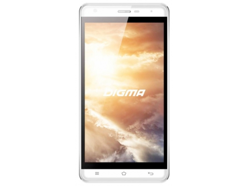 Смартфон Digma VOX S501 3G 8Gb white, вид 1