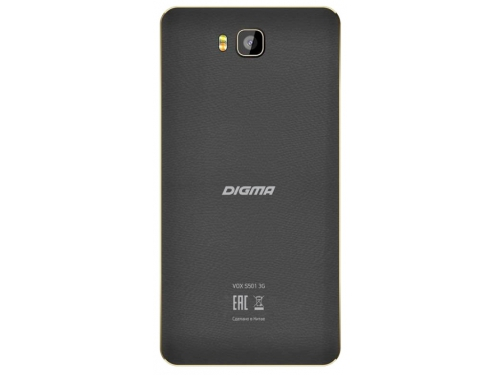 Смартфон Digma VOX S501 3G 8Gb, черный, вид 2