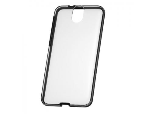 Чехол для смартфона HTC для  One E9+ (HC C1131)прозрачный с серыми вставками, вид 1