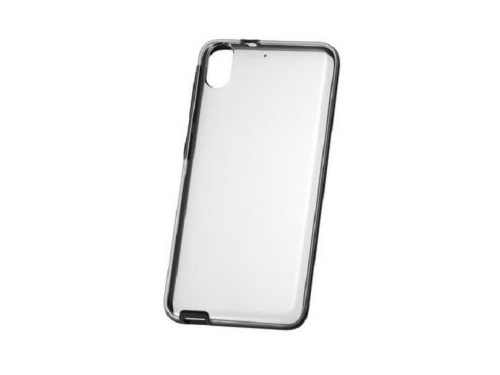 Чехол для смартфона HTC Desire 626 Clear black (HC C1090) черный, вид 1