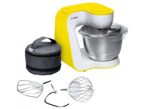 Кухонный комбайн Bosch Mum 54Y00, жёлтый, вид 1
