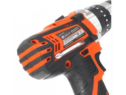 Дрель Patriot BR 241Li-h, оранжевая, вид 7